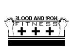 blood and iron fitness fist logo