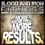 blood and iron fitness 315 motivation poster logo facebook default