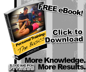 blood and iron fitness 315 ebook personal training basics